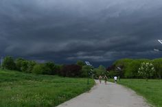 Clouds in Tineretului Park by Ileana Goanta on Suddenly, Places To Visit, Sidewalk, Bicycle, Country Roads, Clouds, Sky, Park, Heaven