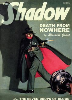"The Shadow Double Novel Vol 73 TPB Maxwell Grant Comics ""Death from Nowhere"" TP 