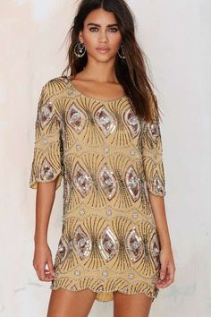 Raga Sarah Beaded Dress