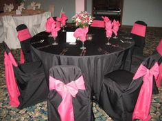 hot pink and black bouqets | Please help!!!HOT PINK and BLACK wedding | Weddings, | Wedding Forums ...