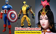 25 Most Beautiful 3d Game Character Design examples for your inspiration. Read full article: http://webneel.com/25-beautiful-3d-game-character-design-examples-your-inspiration | more http://webneel.com/3d-characters | Follow us www.pinterest.com/webneel