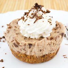 Mini Skor Bar Cheesecakes Recipe