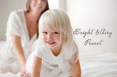 BRIGHT AND AIRY - Lightroom Preset for Photographers. Instant Download Preset. Adobe Lightroom Preset. Bonus Item Included!