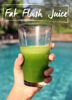 Enjoy juice week right--with the fat flush juice that actually tastes good!