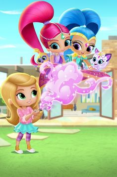 The series (20 episodes) follows twin genies-in-training, Shimmer and Shine, who grant wishes for their friend Leah