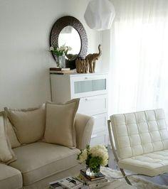 Living room dresser storage