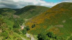 Looking down on Carding Mill Valley