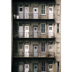Philly 2 urban setting, doors, color photograph, Philadelphia ($40) ❤ liked on Polyvore featuring home, home decor, wall art, urban wall art, photo wall art, urban home decor and door wall art