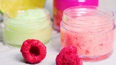 DIY lip balms you can make at home Diy Lip Balm, Dry Lips, Lip Balms, 4 Ingredients, The Balm, Raspberry, Canning, Fruit, Ethnic Recipes