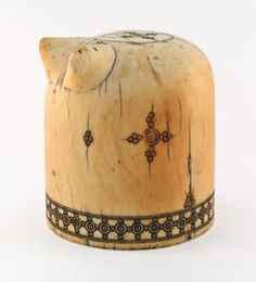 Carved Ivory Chess Piece (Bishop), Norman, Sicily, 11th-12th century