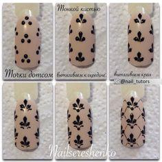 Nails University. Ногти и Маникюр пошагово.  #nailart  #tutorial