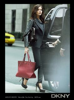 Ashley Greene and Johannes Huebl for DKNY Fall 2012 Ad Campaign