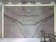 Porcel-Thin Calacatta Book Match marble porcelain tile. #marble #tiles…