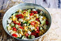 Lime Recipes, Salad Recipes, Healthy Recipes, Summer Corn Salad, Summer Salads, Mediterranean Potato Salad Recipe, Mediterranean Recipes, Clean Eating, Healthy Eating