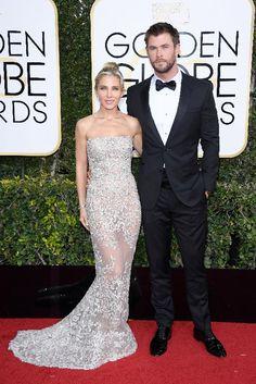 ¿Quién ha tomado el relevo de Angelina y Brad en los Globo de Oro