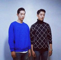 Lee Jungshin (CNBLUE) & Nam Joohyuk - I would totally believe it if they said they were brothers.