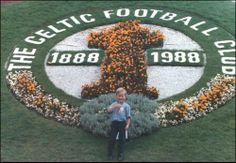 Our beautiful son Brian (RIP) Aged 4  Celtic Centenary Floral Display Glasgow Garden Festival 1988