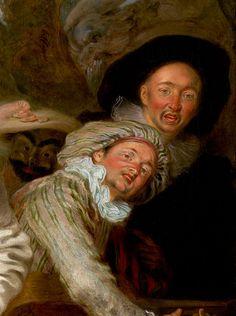Antoine Watteau, Les comédiens italiens  http://casaprints.com/fr/133-reproductions-de-tableaux-de-antoine-watteau