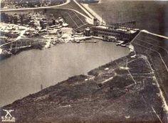 Represa da Light em Santo Amaro  Ano: década de 1930  Autor/Fonte: icg.sp.gov.br