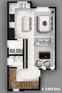 Couloir, Entrée & Escaliers de style de style Moderne par CDR CONSTRUCTORA