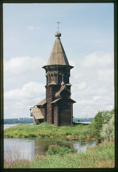 Church of the Dormition (1774), Southeast View, Kondopoga, Russia — Viewer — World Digital Library