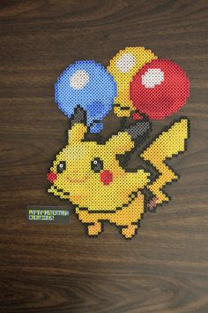 Flying Balloon Pikachu