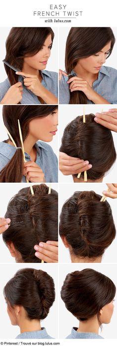coiffures simples et rapides pour les filles 07 via http://ift.tt/2axo7TJ