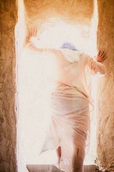 """He is risen! """"I know that my Redeemer lives, and that in the end he will stand upon the earth. And after my skin has been destroyed, yet in my flesh I will see God; I myself will see him with my own eyes - I, and not another. How my heart yearns within me!"""" (Job 19:25-27)"""