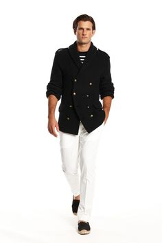 Ralph Lauren offers a world of luxury and comfort in men's clothing. @Ralph Holzmann Lauren