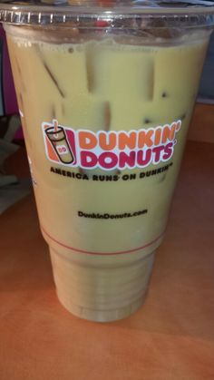 """See 30 photos and 20 tips from 420 visitors to Dunkin'. """"Friendly people, good coffee, and delicious ham/egg/cheese flatbread grilled sandwich with. Fun Drinks, Yummy Drinks, Donkin Donuts, Mister Donuts, Best Iced Coffee, Strawberry Drinks, Steak And Shrimp, Thomas Keller, Coffee And Donuts"""