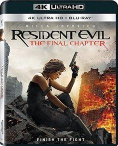 Resident Evil: The Final Chapter [4K Ultra HD + Blu Ray + 3D]