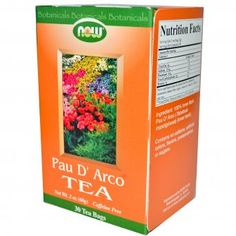 Чай от Мравчено Дърво (Pau D`Arco) 30 пакетчета Now foods. Още инфо на: http://biomall.bg/bio-naturalni-hranitelni-dobavki/bilkovi-ekstrakti/pau-darco-tea-mravcheno-darvo-paketcheta-chai-now-foods-cena