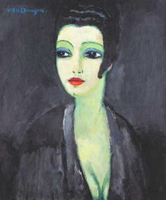 Kees van Dongen: Tamara, The Painter's Muse, 1913.