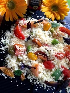 Recipe 5: 100 Recipes Challenge Yotam Ottolenghi's Tomato Party, is such an easy recipe to follow. All you need is tomatoes of different colours and sizes, fresh herbs and couscous. A totally healthy and fresh salad, you can serve it as a one pot dish. You may use any variety of tomato and in a prop