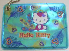 Hello Kitty Peacock ID Case