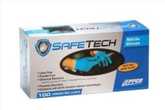 Eppco 5643 Safe Tech Nitrile Gloves Nitrile  M >>> See this great product. This is an affiliate link.