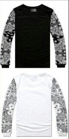 Bandana sleeve shirts