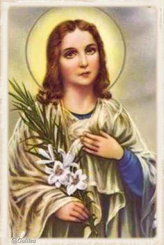 Santa María, Madre de Dios y Madre nuestra: Santa María Goretti, 6 de Julio