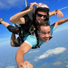 Creative Birthday Ideas for Men —by a Professional Event Planner Man Birthday, Birthday Ideas, Diving, Sky, Fall, Creative, Heaven, Autumn, Scuba Diving