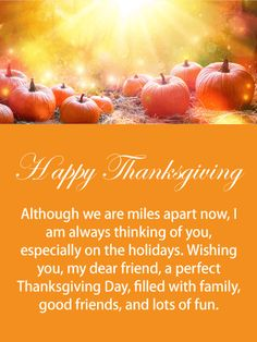 Thanksgiving Day Messages For Friends - Thanksgiving Messages