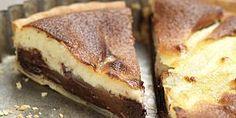 Recette  : Tarte aux poires et au chocolat croquant