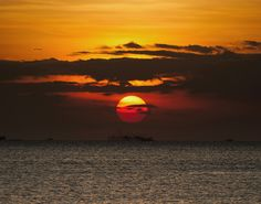 Sunset over Manila Bay by Andrew Madden