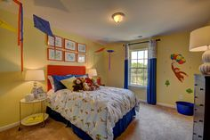 Curious George - themed bedrooms for kids!