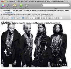 Givenchy - from my Fashion Inspiration notebook