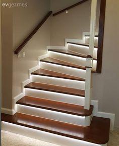 Aydınlatma, Led ışık, Merdiven