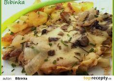 Pečené vepřové kotlety pod houbovo-sýrovou čepicí Potato Salad, Mashed Potatoes, Chicken, Meat, Ethnic Recipes, Cooking, Whipped Potatoes, Smash Potatoes, Shredded Potatoes