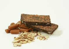 Salted Caramel Almond Crunch Bark, absolutely delicious.