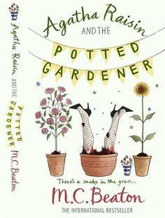 Agatha Raisin and the Potted Gardener by M.C. Beaton, http://www.amazon.co.uk/dp/1849011362/ref=cm_sw_r_pi_dp_YlNbtb0DG6Q4H