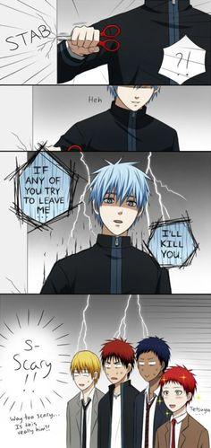 Kuroko a changer de caractère... - Genshoku Mangas