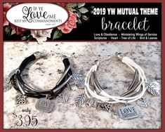 YW 2019 Theme Charm Bracelet - Love & Obedience If Ye Love Me Keep My Commandments Bracelet Young Women Jewelry Charms New Beginnings gifts If Ye Love Me, My Love, Charm Jewelry, Jewelry Gifts, Pillow Treats, Young Women Values, Secret Sister Gifts, Bag Packaging, Girls Camp